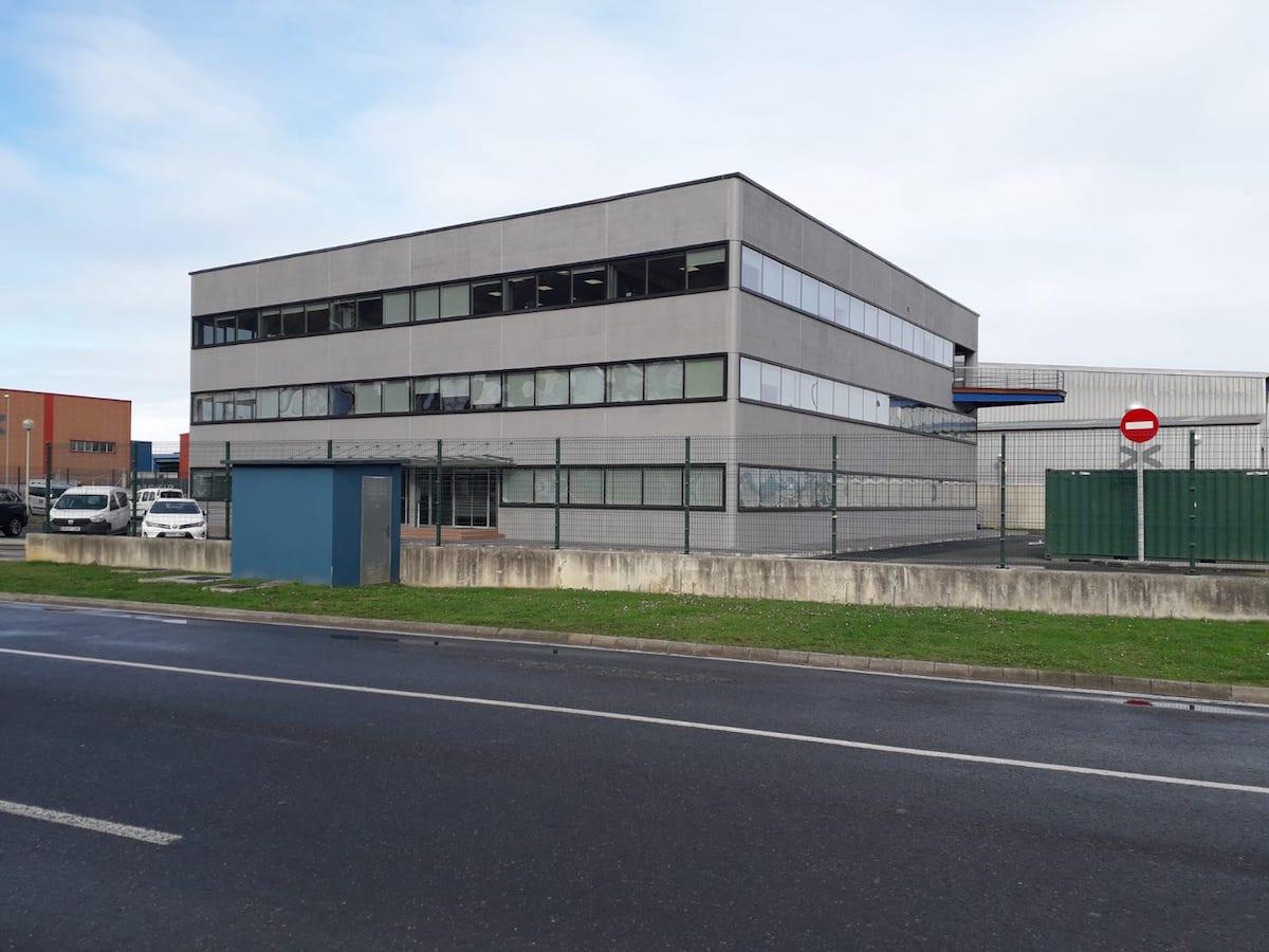 Edificio Zubia puerto de Bilbao 1