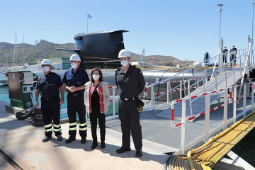 Navantia   Margarita Robles   submarino S 80