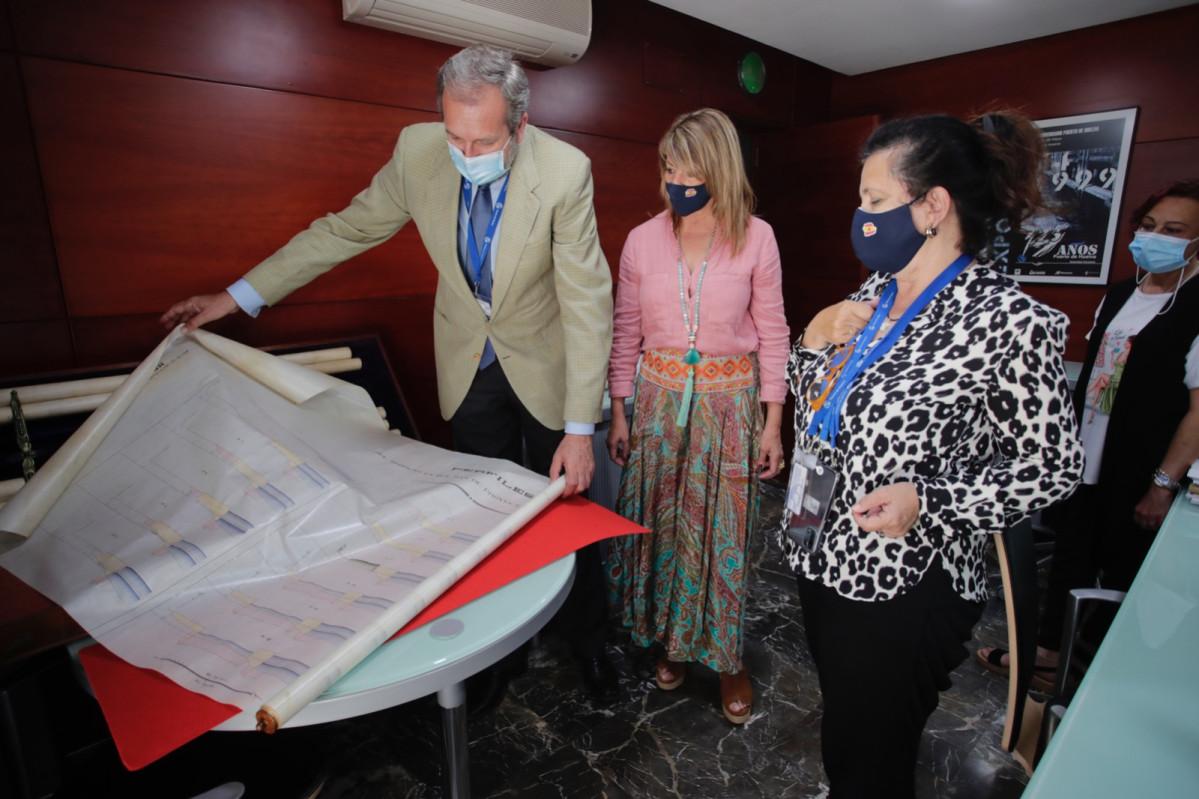 Visita al Archivo del Puerto de Huelva 1