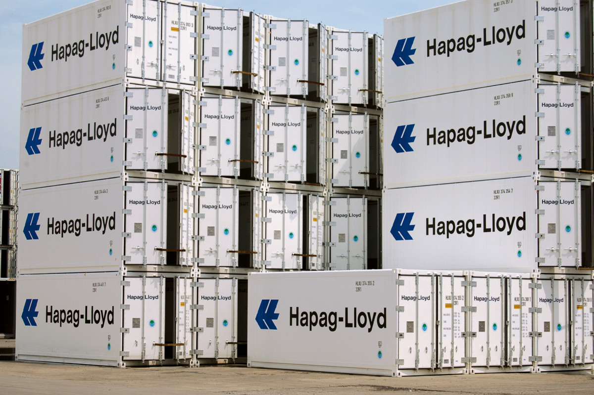 HapagLLoydReefer Container