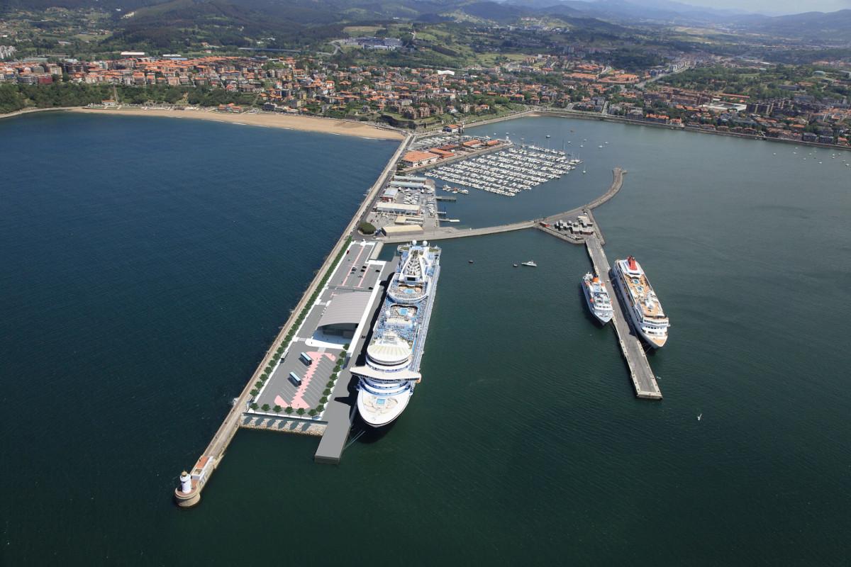 BilbaoportFotomontajenuevaterminalcruceros